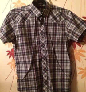 Рубашки клетчатые