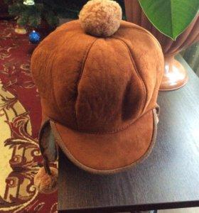Дублёночная шапка