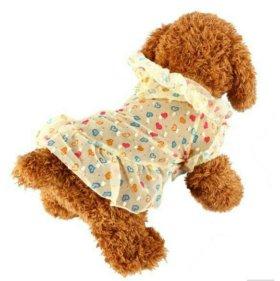 Новое платье для собачки