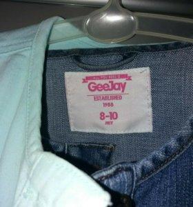 Курточки джинсовые