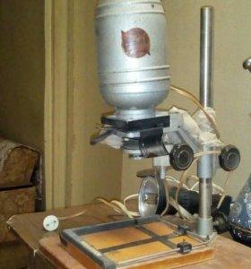 Аппарат для проявки фото, древний.