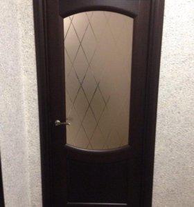 Установка межкомнатных дверей Биокомбинат