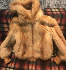 Куртка из меха енота 44-46р