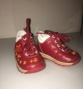 Ботинки кожа 19 р-р