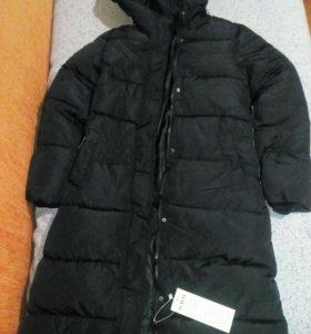 Зимнее молодежное пальто(новое).