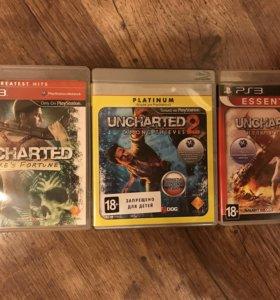 Игры для приставки Uncharted трилогия