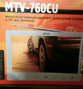 Телевизор переносной 12-220в