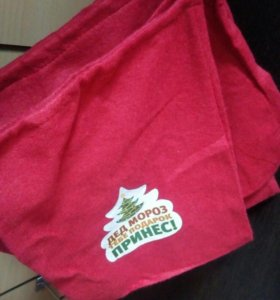 Мешок новогодний подарочный