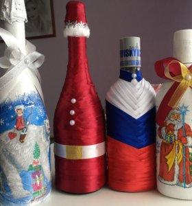 Новогодние бутылочки для вас и ваших близких!!!