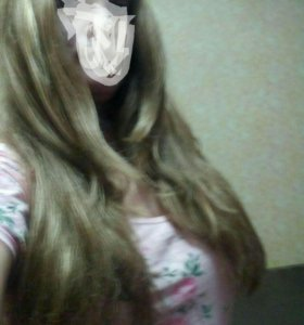 Продам парик Длинные волосы.