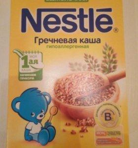 каша безмолочная гречневая Nestle