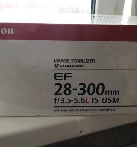 Объектив Canon EF 28-300mm
