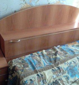Кровать 2х спальная+ Матрас