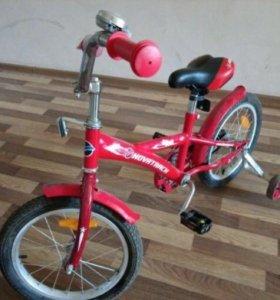 Продам детский велосипед в отличном состояний