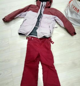 Куртка зимняя 6-8 лет