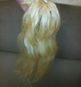 Натуральные Волосы для наращивания 60 см.