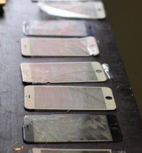 Замена стекла/дисплея на любых iPhone за 1 час