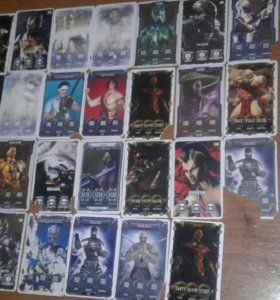 Карточки мартокомбат