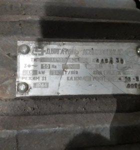 Электродвигатель 1.5 квт 1000об.мин