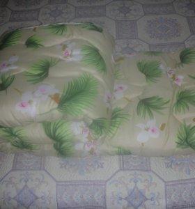 Одеяло овечья шерсть(комфорт)