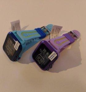 Водостойкие детские смарт часы с GPS DF27