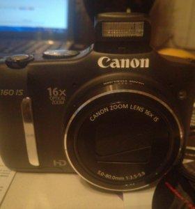 "Цифровой фотоаппарат ""Conon Powershot SX160 Black"""