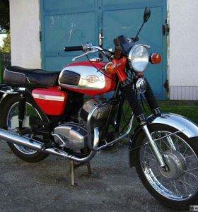 запчасти для мотоцикла ява 634