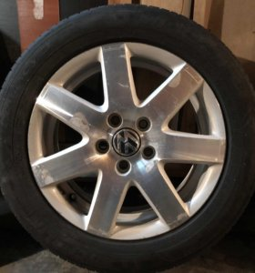 Диски оригинал Volkswagen r16 с резиной
