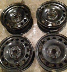Заводские диски от Volkswagen Jetta