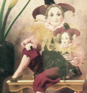 Антикварная фарфоровая кукла США. 1993г.