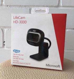 Вэб-камера Microsoft LifeCam HD-3000