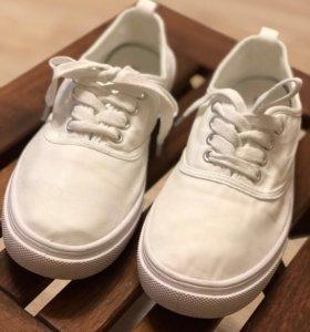 Кеды белые H&M