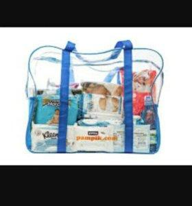 Готовая сумка в роддом