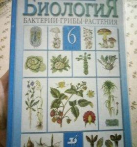 Новый Учебник по биологии 6 класс