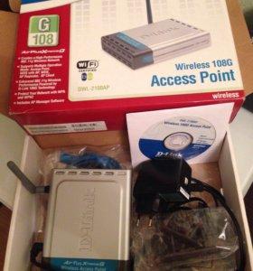 Точка доступа D-Link DWL-2100AP (wi fi роутер)