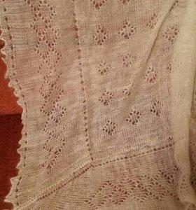 Пуховые платки Паутинка