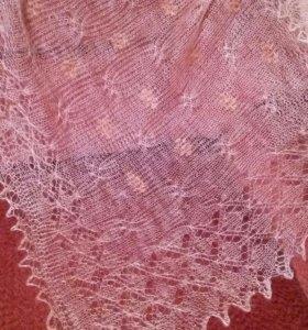 Пуховый платок Паутинка