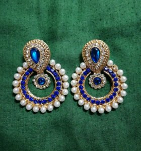 Серьги Индийские