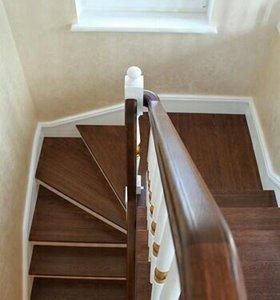 Изготовление лестниц.