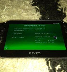 Обмен PS Vita wi-fi 8gb HENkaku Enso