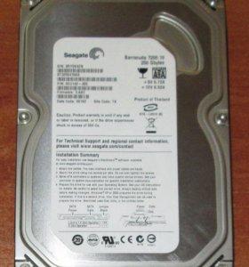 Продам жёсткий диск на 250гб(sata)
