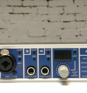 Аудиокарта RME Fireface 400