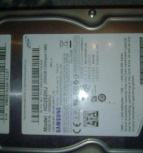 Жесткий диск 250gb