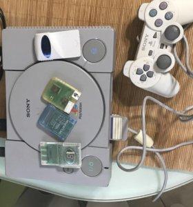 Playstation 1 и около 50 дисков