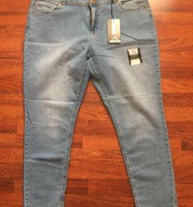 Новые женские джинсы 60-62