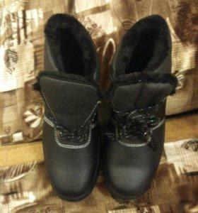 Зимние ботинки. 41р.