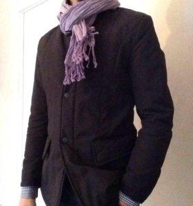 Утеплённая демисезонная мужская куртка