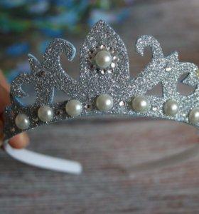 Диадемы,короны,бабочка-гастук новогодние на заказ