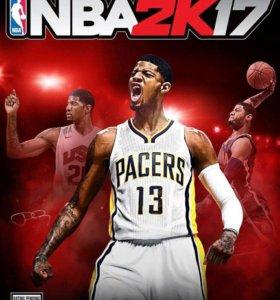 NBA2k17 игра для PS4