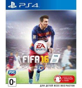 FIFA16 игра для ps4